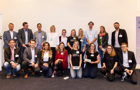 Gruppenfoto aller Auststeller des Forum Ehrenamts