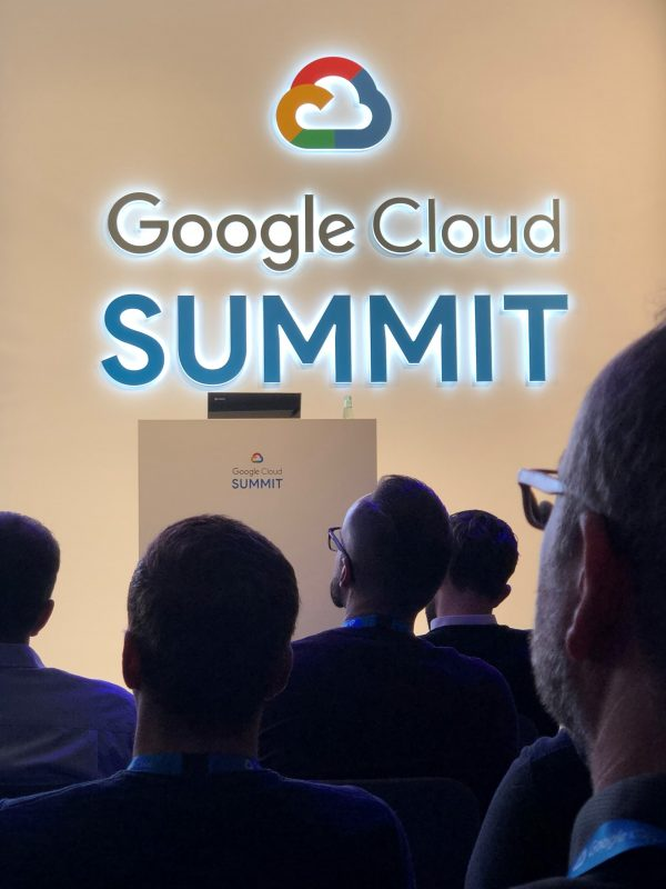 Logo der Google Cloud Summit